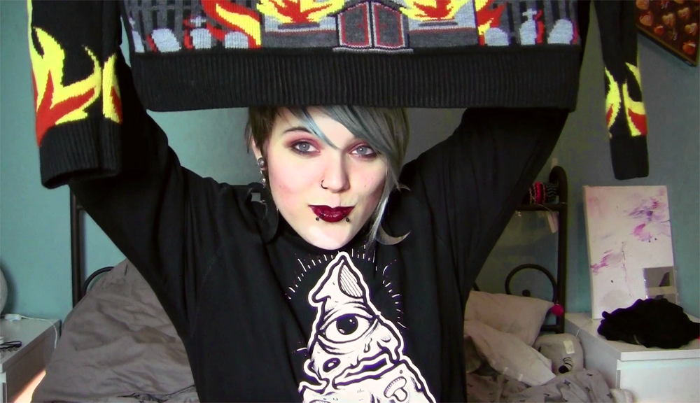 videoblog, youtube channel, killstar, american apparel, haul
