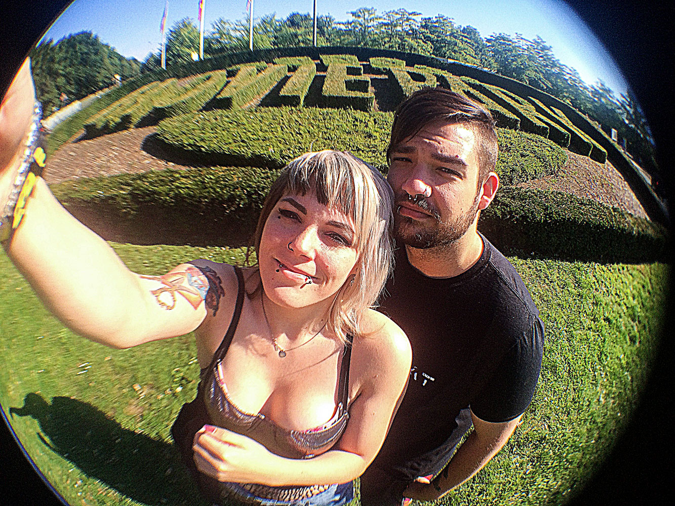 movie park germany outfit american apparel fisheye