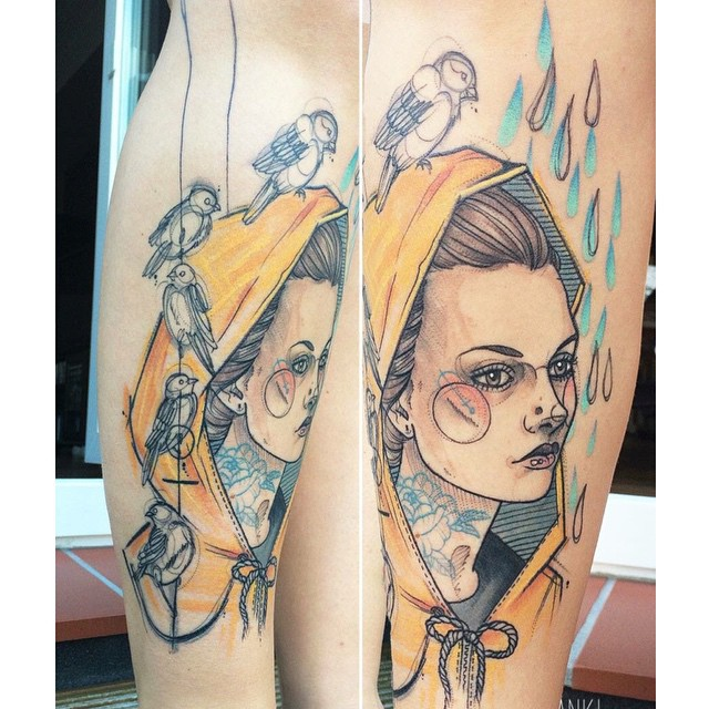 Anki michler Tattoos hamburg