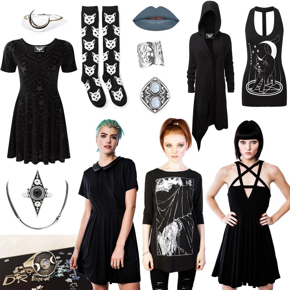 black friday 2015, distubia, grunge, clothing, jewelry, schmuck, killstar, regalrose, druzy dreams, la splash
