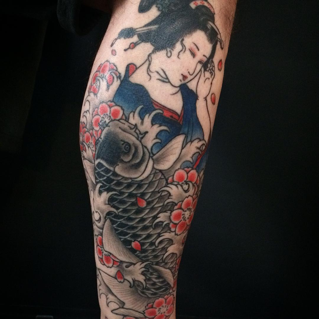 naoko matsuda good old times tattoo berlin japanischer still japan koi