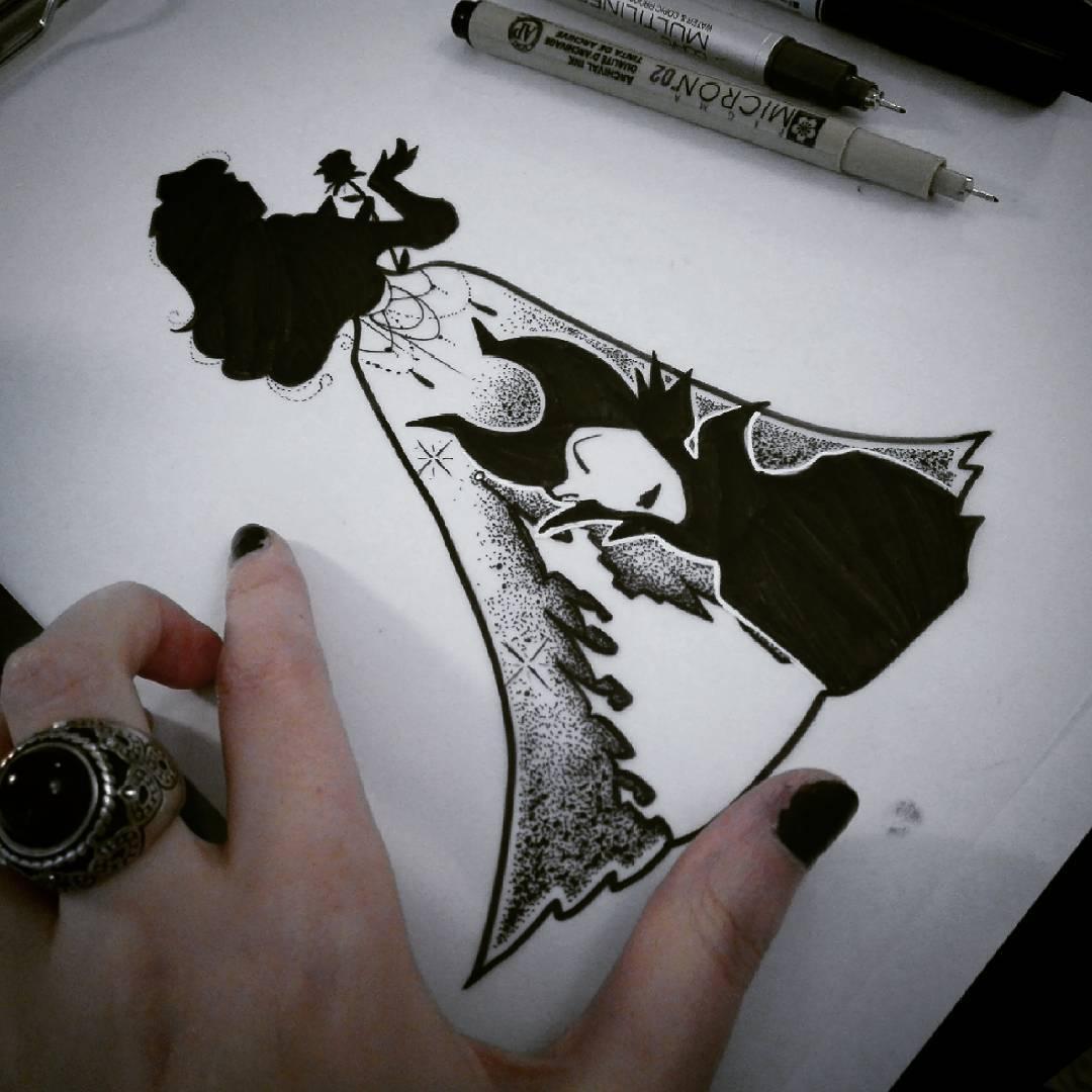 Sharlotte sharlottesan Tattoos Lille dornröschen disney