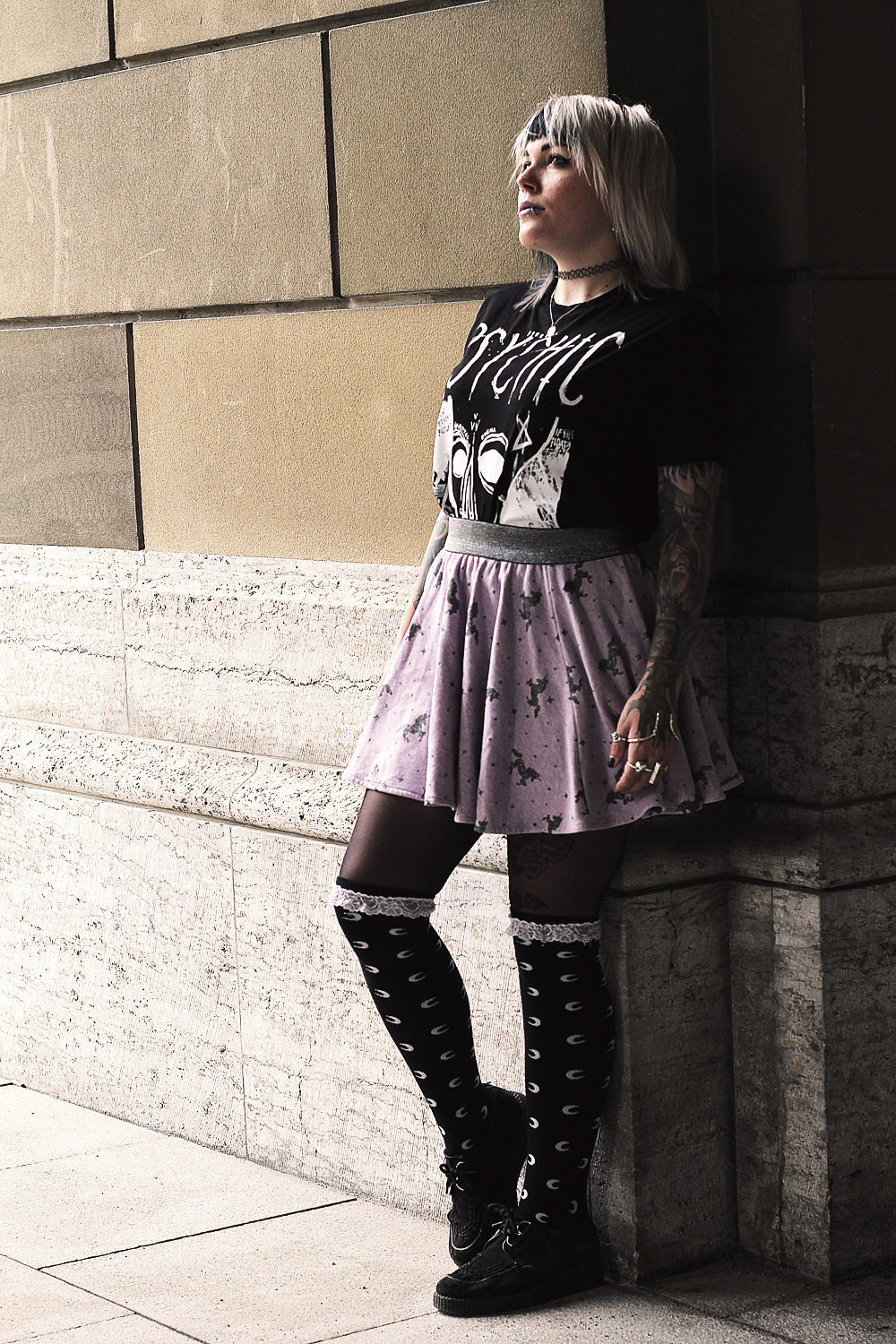 killstar, disturbia, aurora, overknees, einhorn, rock, sommer, psychic angst, creepers, lila, lavender, glitzer, alternative, alternative fashion, alternative girl, alternative mode, altgirl, berlin, berlin fashion, berlin fashion blogger, berlin mode, berlin streetstyle, blogger, fashion blogger, girls with piercings, girls with tattoos, grunge, grunge fashion, grunge mode, mode, Punk, punk fashion, punk mode, punkgirl, punkmädchen, scenehair, snakebites, split hair, splithair, tattoomädchen, tattoomodel