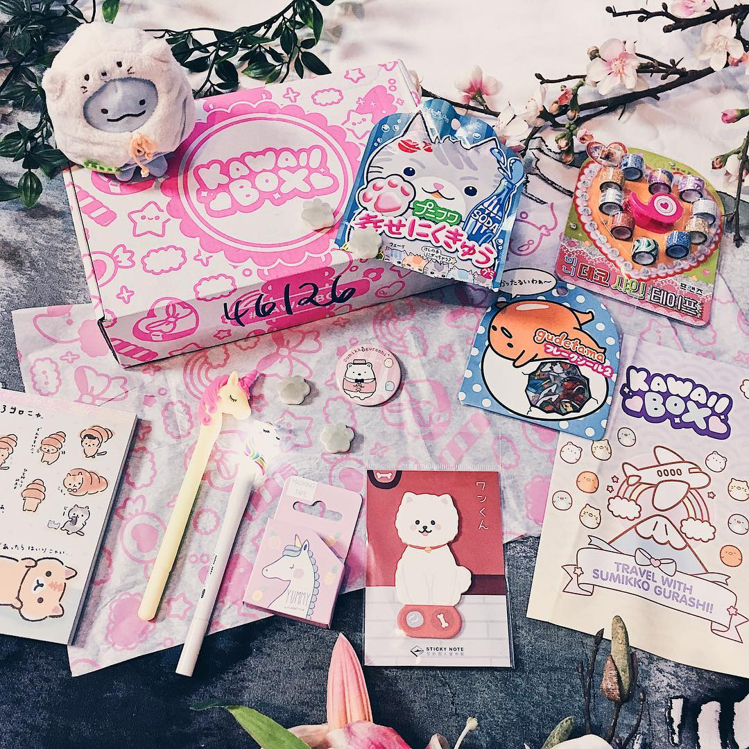 kawaii box, sumikko gurashi, kawaiibox, Japan, japanisch